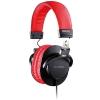Prodipe 3000BR closed headphones, black-red
