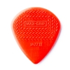 Dunlop Nylon Max Grip Jazz III Picks, Player′s Pack, 6 pcs., red, 1.38 mm