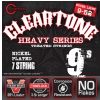 Cleartone Electric EMP Strings, Ultra Light electric guitar strings