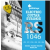 Galli RS1046 electric guitar strings + E1, H2 strings and a guitar pick