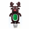 Jeremi A7 clip-on guitar tuner, brown reindeer