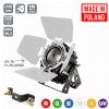 Flash Pro LED PAR 64 300W 6w1 COB RGBWA UV Short + Barndoor MK2