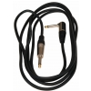 RockCable kabel instrumentalny - angled TS (6.3 mm / 1/4), black - 3 m / 9.8 ft.