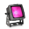 Cameo FLAT PRO FLOOD IP65 TRI-lampa PAR zewnętrzna z diodą LED COB 60 W Tri-Color w czarnej obudowie