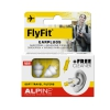 Alpine FlyFit earplugs (pair) with blindfold