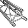 DuraTruss DT 33/2-075 straight aluminium construction element, 75cm