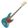 Fender American Elite Jazz Bass Ebony Fingerboard, Ocean Turquoise bass guitar