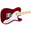 Fender Deluxe Telecaster Thinline Pau Ferro Fingerboard 3-Color Sunburst electric guitar