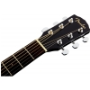 Fender CD 60SCE Black electric acoustic guitar