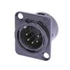 Neutrik NC5MD-L-1 B XLR male socket