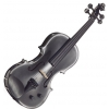 Stentor 1515BLA Harlequin 4/4 electric violin outfit, black
