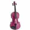 Stentor 1401RPA Harlequin 4/4 violin, pink with case and bow