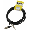 4Audio MIC2022 PRO 3m microphone cable asymmetric XLR-F TS with band, Neutrik