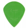 D Grip Jazz 1.00mm green guitar pick