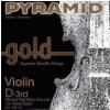Pyramid 108103 D Gold 4/4 violin string