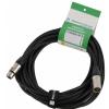 Klotz MIC PRO 3m przewód mikrofonowy XLR-F - XLR-M, Neutrik złocone złącze, MY206, z opaską