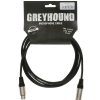 Klotz GRK1FM 0300 Greyhound microphone cable XLR-F-XLR-M