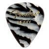 Fender Zebra Heavy Celluloid guitar pick