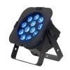 American DJ 12PX HEX - reflektor LED RGBAW+UV  czarny płaski 12 x 12W