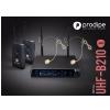Prodipe Headset B210 Duo DSP UHF mikrofon bezprzewodowy nagłowny podwójny, zmienna częstotliwość