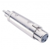Adam Hall Connectors 7868 Adapter XLR female to RCA male