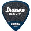 Ibanez PPA16 XSG DB Flat Pick Sand Grip guitar pick set, 6 pcs.