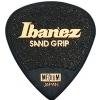 Ibanez PPA16 MSG BK Flat Pick Sand Grip guitar pick set, 6 pcs.