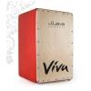 J.Leiva Viva Red Edition cajon