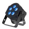 American DJ 5PX HEX - reflektor LED RGBAW+UV  czarny płaski 5 x 10W