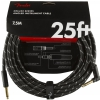 Fender Deluxe 25′ Angle Black Tweed kabel gitarowy