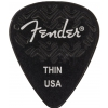 Fender Wavelength 351 Thin Black guitar pick