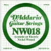 D′Addario NW018 Nickel Wound Electric Guitar String
