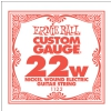 ErnieBall nickel wound single guitar string ′22w′