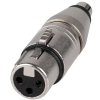Neutrik NA2FPMF Adapter (3-pole XLR female – RCA / phono socket)