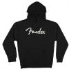 Fender Logo Hoodie, Black, XXL
