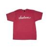 Jackson Logo T-Shirt, Heather Red, XL