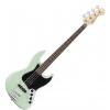 Fender Deluxe Active Jazz Bass Pau Ferro Fingerboard, Surf Pearl bass guitar