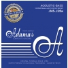 Adamas 5300NU-M (669615) Nuova Coated acoustic bass guitar strings Medium .045-.105