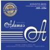 Adamas 5300NU-M (669615) Nuova Coated acoustic bass guitar strings Medium .045-.105