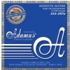 Adamas Phosphor Bronze Nuova Coated Acoustic Guitar Strings Extra Light .010-.047