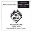 Fire&Stone (666824) struna pojedyncza 80/20 Bronze - .024in./0,61mm
