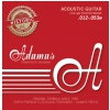 Adamas 1818 Phosphor Bronze Historic Reissue acoustic guitar strings .012-.053