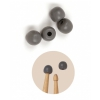 Vic Firth UPT universal drumstick practice tips, (2 pairs)