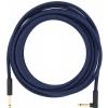 Fender Festival Pure Hemp Blue Dream guitar cable, jack-jack, 10ft/3m