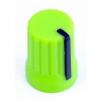 DJ TECHTOOLS Chroma Caps Super Knob 0  (zielony)