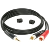 Klotz AY7 0300 mini TRS / 2xRCA cable 3m
