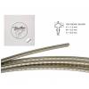 Boston 1530068 fretwire, 12% nickel silver, h=1,5 w=3,0 g=0,6mm