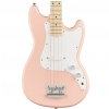 Fender Squier FSR Affinity Bronco Bass MN Shell Pink bass guitar
