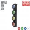 Flash Pro JETO SUNAX1 4x30W 4in1 COB RGBW 4 SECTIONS mk2 - retro look vintage light bar