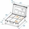 Roadinger Universal Tool Case